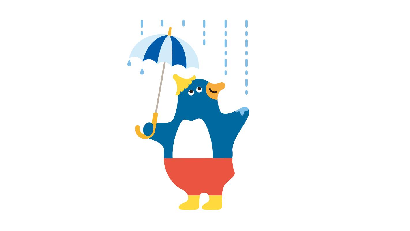 仙台うみの杜水族館 ペンギンのモーリーくん